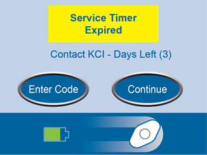 Service Timer Expired Screen No Links