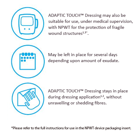 ADAPTIC TOUCH™ Dressing
